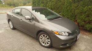 Honda Civic Sedan Ex- Fuel Economy