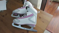 Reebok BOA Skates EUC - girls/youth size 3