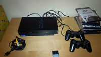 Playstation 2 with 9 games