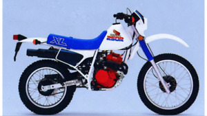 Looking for plastic for 1986 Honda XL250R