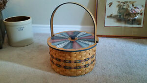 Folksy Basket with Lid London Ontario image 1