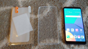 LG G6 Unlocked, mint condition,  free case and screen protector