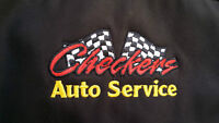 CHECKERS AUTO SERVICE, $49.00 HOUR, CALL 832-9000 FOR APPOINTMEN