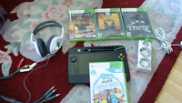 XBOX 360 250 gig. slim. Games, controllers and more
