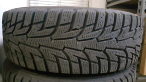 Hankook I Pike RS Winter tires P195-65-R15