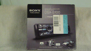 12v SONY Portable Car Stereo w/ Detachable Speakers. London Ontario image 1