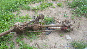 Dana 44hd and gm corporate 10bolt front axles.