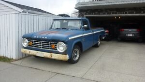 Awesome 1965 Dodge D100 Sweptline