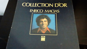 Collection d'or d'Enrico Macias- 3 disques vinyles