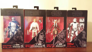 Star Wars black series red cards