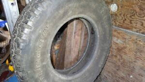 GOOD USED BF GOODRICH LT215/85R/16 A/S TIRE
