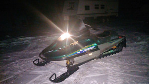 1993 bombardier summit 583 Rotax mountain sled