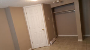 2 Bedrooms available in a basement apartment -