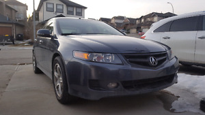 "2006 Acura TSX Manual 6spd Leather, Alloy Rims17"", clean low km"