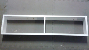 Sturdy wooden shelf