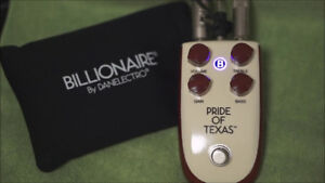 Overdrive pedal Danelectro Pride of Texas