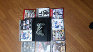 Great deal on ps3 with 10 games