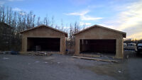 Private 22' double Garage for rent / storage / shop