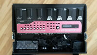 boss RC-50 loopstation with optional custom case