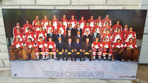 1976 TEAM CANADA PICTURE for sale