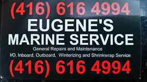 MARINE MECHANIC / TECHNICIAN 416-616-4994