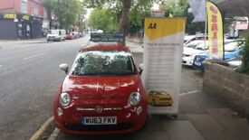 Fiat 500 1.2I COLOUR THERAPY S/S (red) 2013