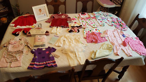 Assorted Baby Girl Clothes & Items