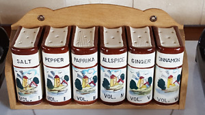 Salt, pepper and spice set. Old, but never used.