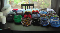 Couches Lavables (37) - Washable diapers (37)