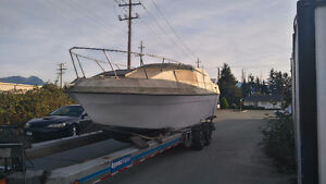 Bayliner needed to be Towed to Edmonton