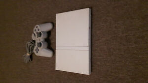 Slim white ps2 and 40+ games