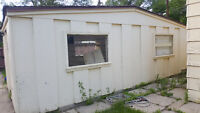 Wanted- Demolition of garden shed