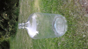 5 gallon glass wine jug