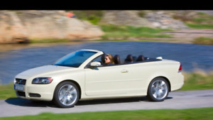 2010 Volvo C70 T5 turbo convertible décapotable A/C cuir mags