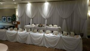 Wedding backdrops for any budget