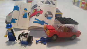 Vintage Lego Auto and Tire Repair 6655 (1984) with box