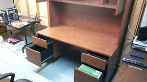 Office Desk with Hutch Cambridge Kitchener Area image 4