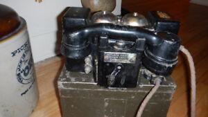 Téléphone militaire de la 2ieme guerre mondiale 1940-45