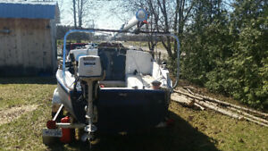 SJ 21 With Trailer, Outboard and Sails