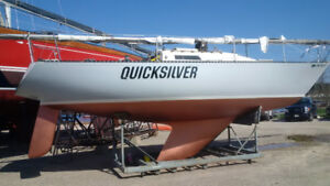 TODAY  ONLY: C&C 33ft RACER sailboat: $8000: will finance