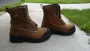 Work boots, metal free CSN approved size 7