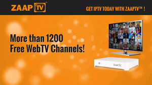 ZAAP HD509N IPTV BOX - LIVE TV - ARABIC, GREEK, TURKISH AND MORE