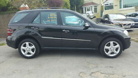 Mercedes-Benz ML 320 CDI Sport 7 G-Tronic Auto * Black * 2 Previous Owners *