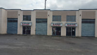 4 WAREHOUSES FOR LEASE