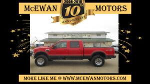 2008 Ford F-350 Crew Lariat Diesel Lifted 4x4 Truck