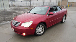 2008 Chrysler Sebring convertible, Only 108k, 3/Y warranty avaia