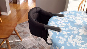 High chair that attaches to the table