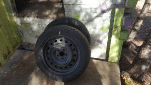 2 Toyota tires with rims