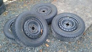 For Sale 4 Winter Tires on Rims