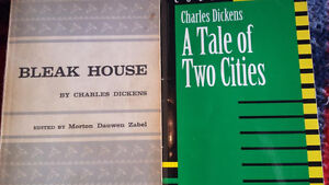 Charles Dickens Bleak House  and A Tale of Two Cities